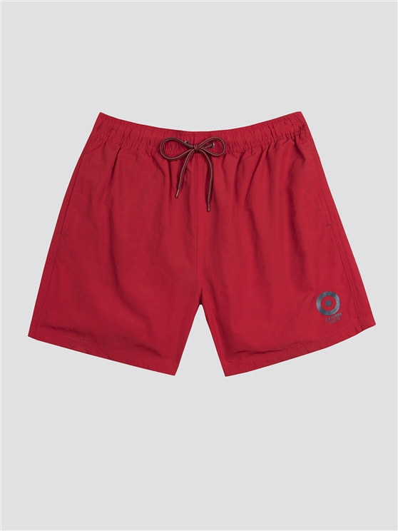 Red Bathsheba Swim Shorts