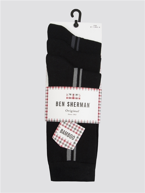 Robert Peel 3 Pack Sock