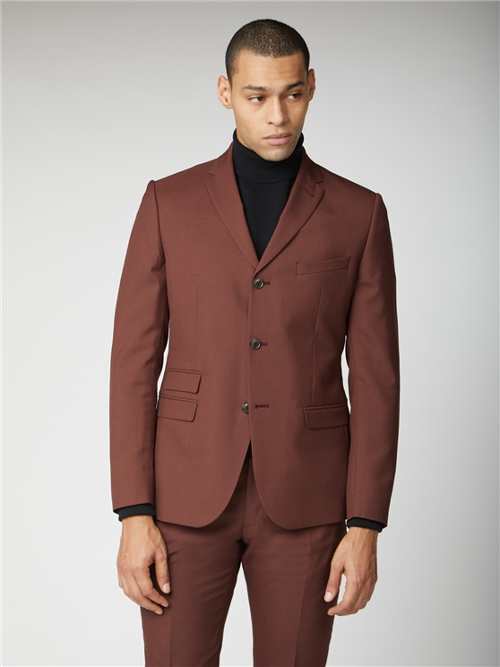 Tobacco Tonic Suit Jacket