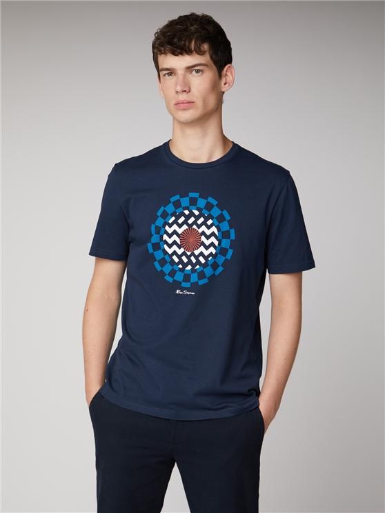 Op Art Target T-Shirt