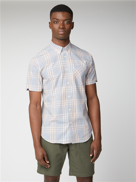 Mixed Scale Check Shirt