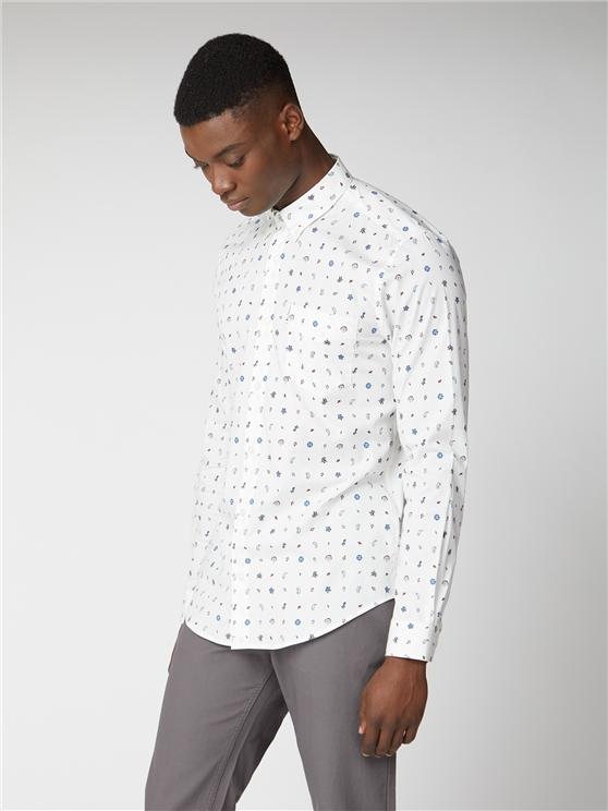 Conversational Print Shirt