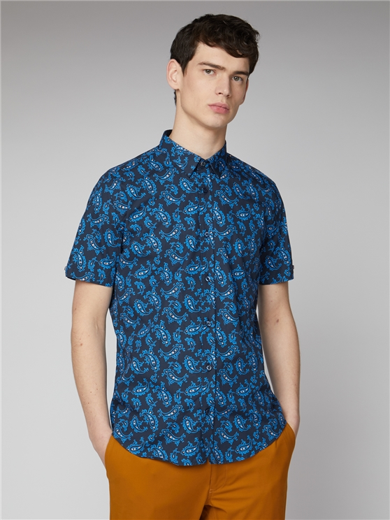 Retro Paisley Shirt