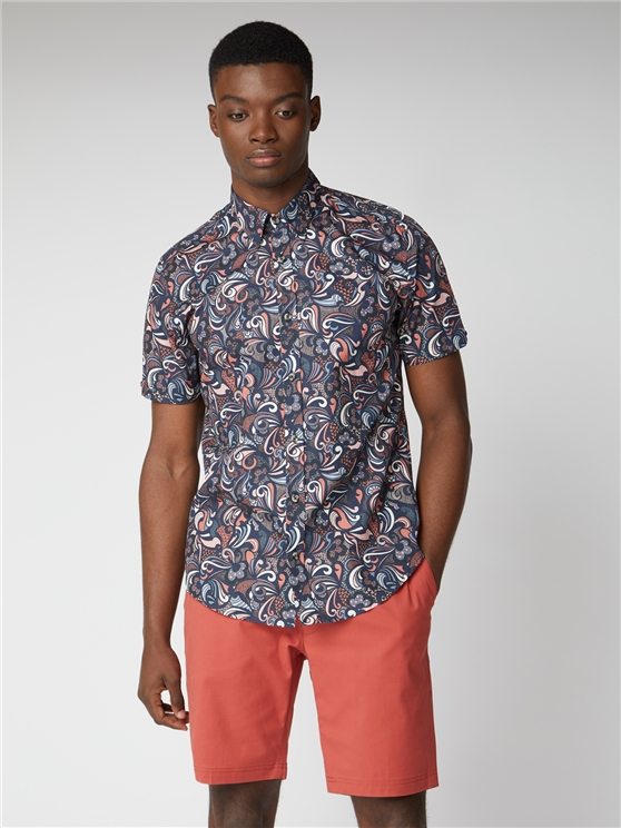 Psychedelic Multi Print Shirt