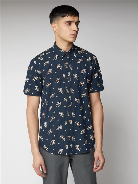 Printed Neps Shirt