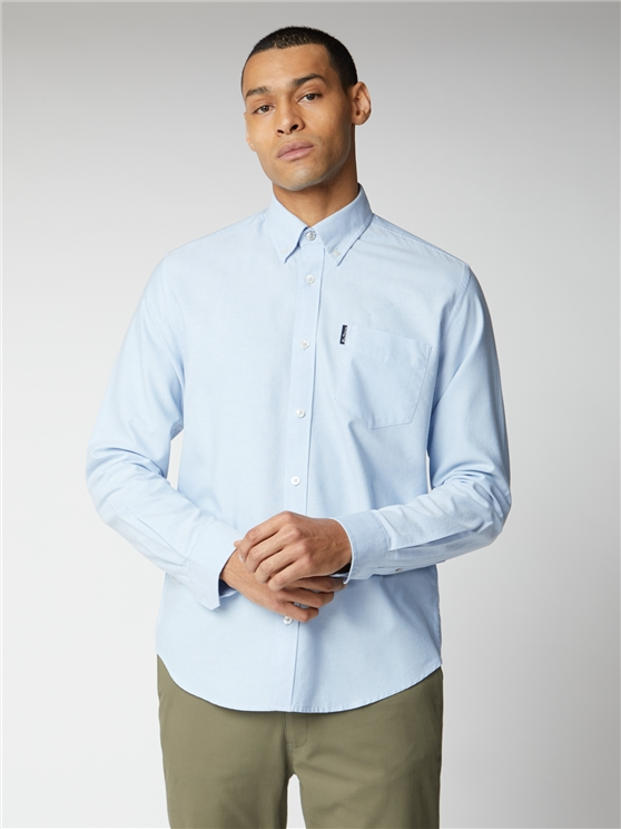 Sky Blue Signature Button Down Oxford Shirt