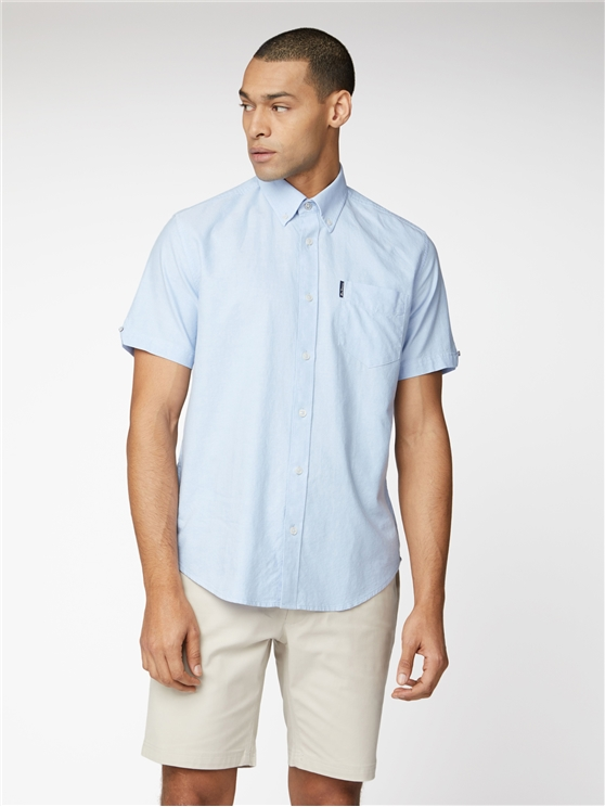 Signature Sky Blue Button Down Oxford Shirt