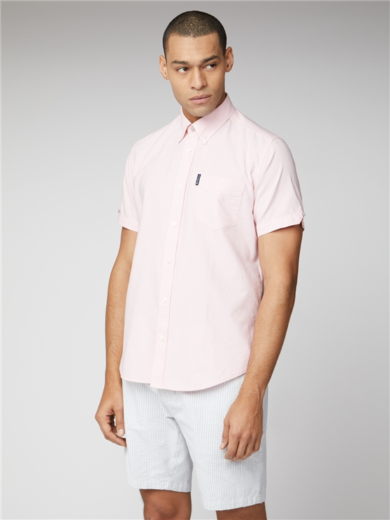 Signature Light Pink Button Down Oxford Shirt