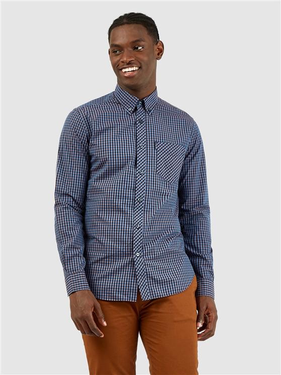 Long Sleeved Signature Gingham Shirt