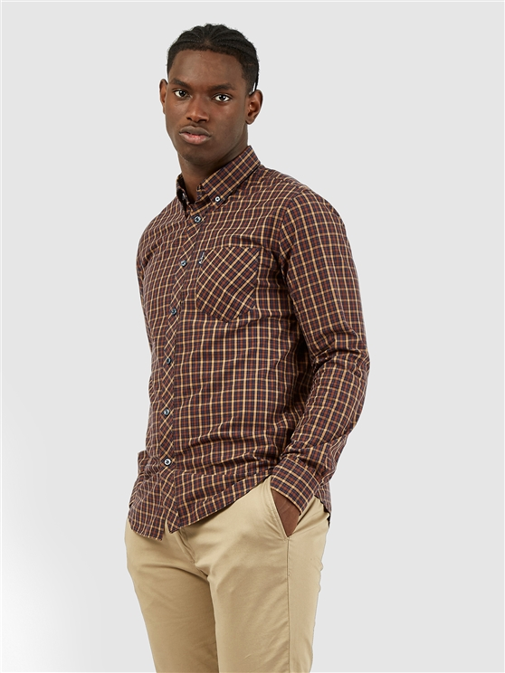 Long Sleeved Signature House Checked Shirt