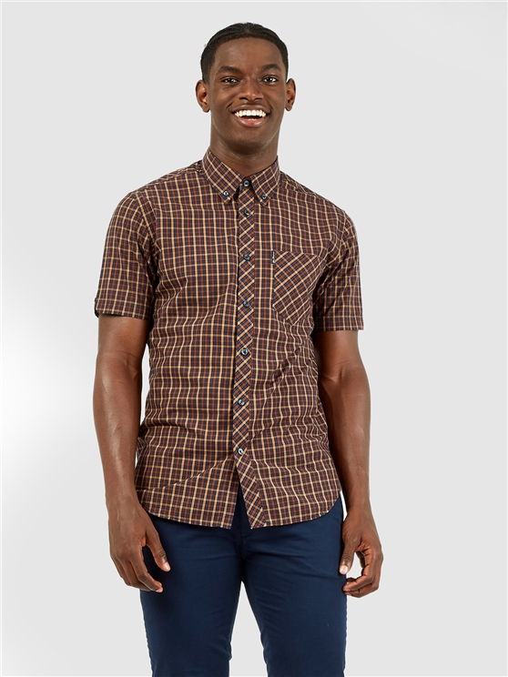 Short Sleeved Signature House Checked Shirt