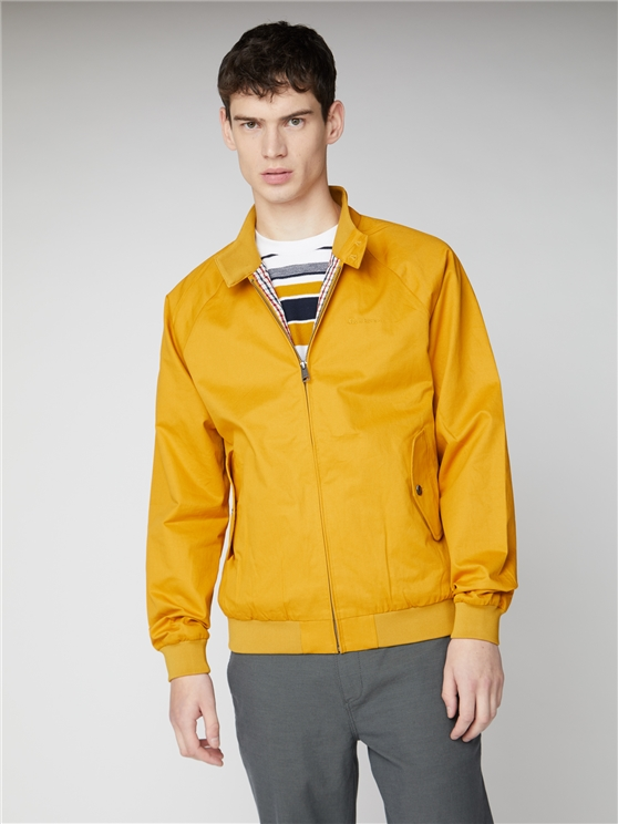 Signature Yellow Ochre Harrington Jacket