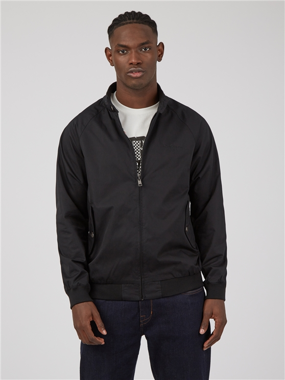 Signature Black Harrington Jacket