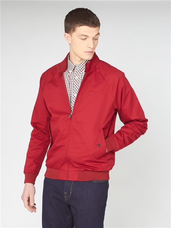 Signature Red Harrington Jacket