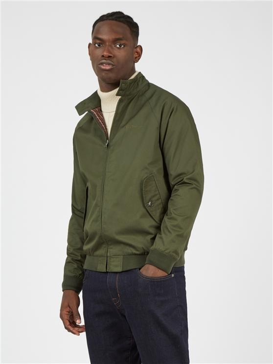 Signature Deep Jungle Harrington Jacket