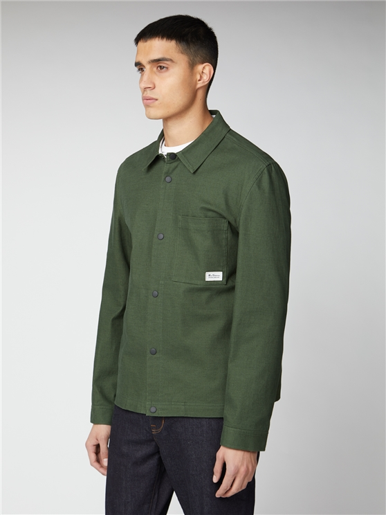 Forest Green Trucker Jacket
