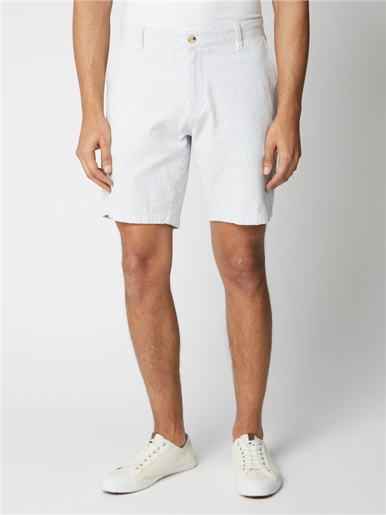 Seersucker Stripe Short