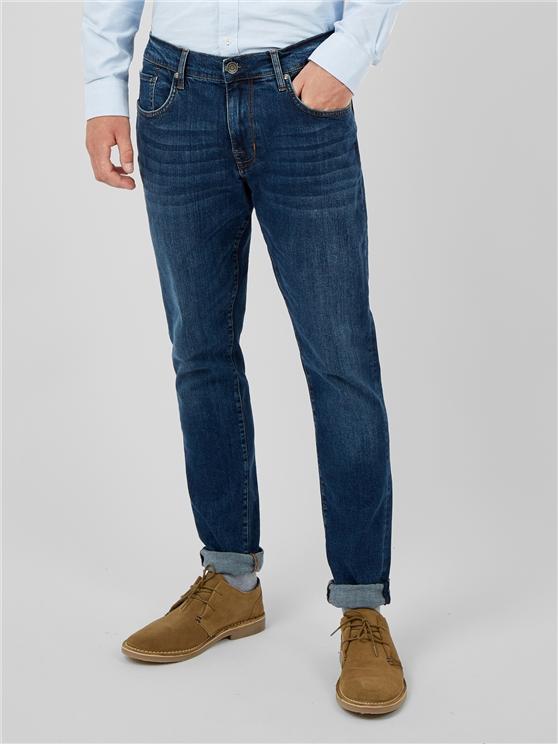 Straight Stonewash Jean