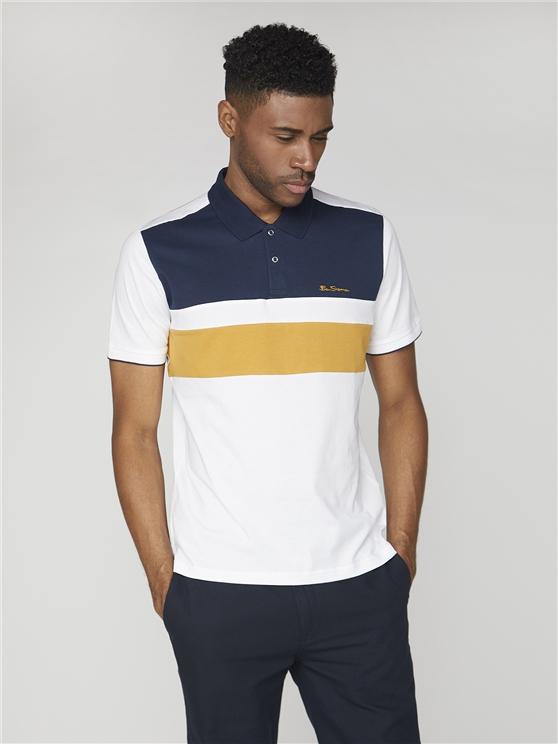Sport Stripe Jersey Polo