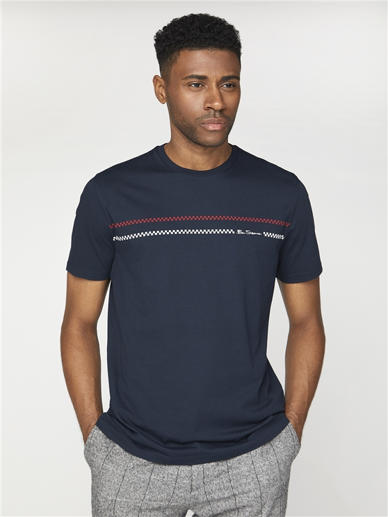Chest Print T-Shirt
