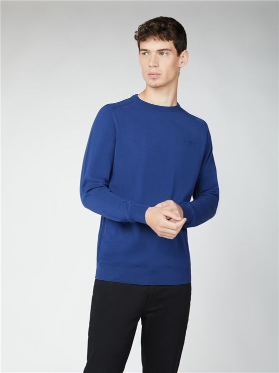 Signature Cotton Crew Neck Jumper