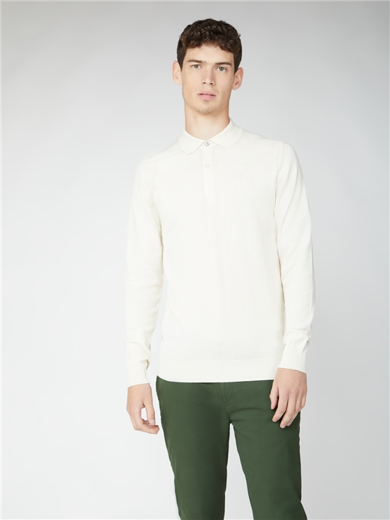 Signature Cotton Long Sleeve Polo
