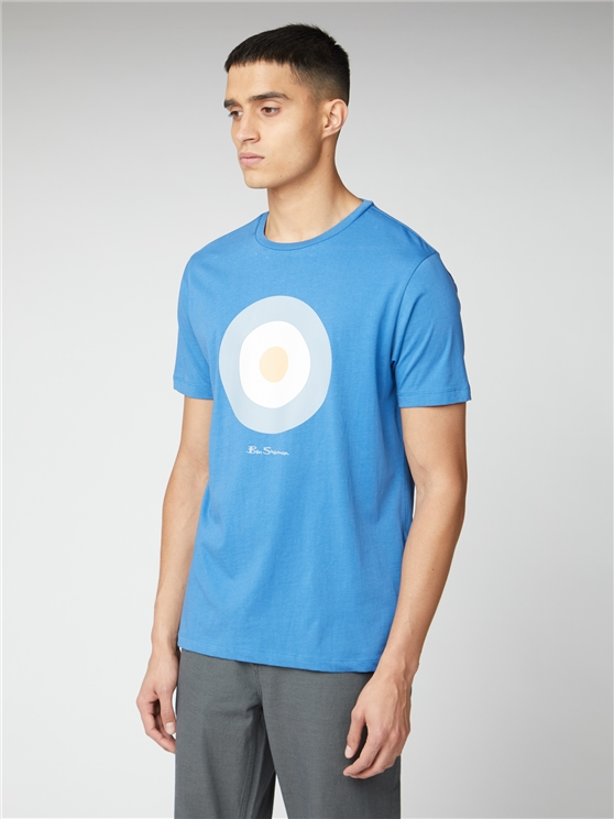Blue Signature Mod Target Tee