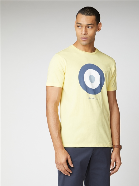 Lemon Yellow Signature Mod Target Tee