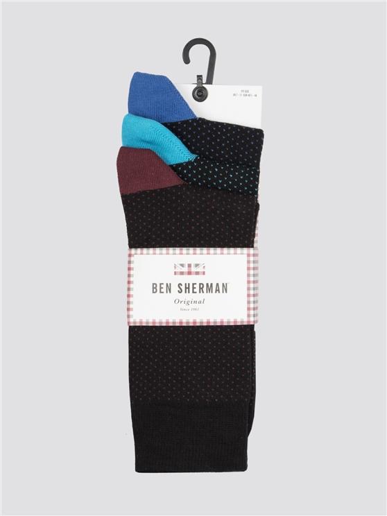 Sea The Stars 3 Pack Socks