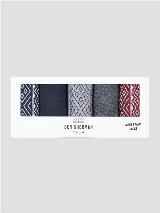 Gainsborough 5 Pack Gift Socks