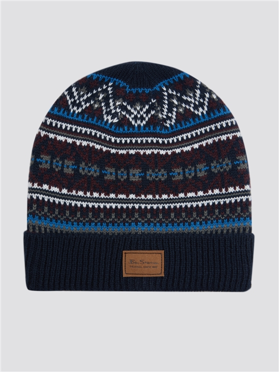 Fairisle Knit Hat