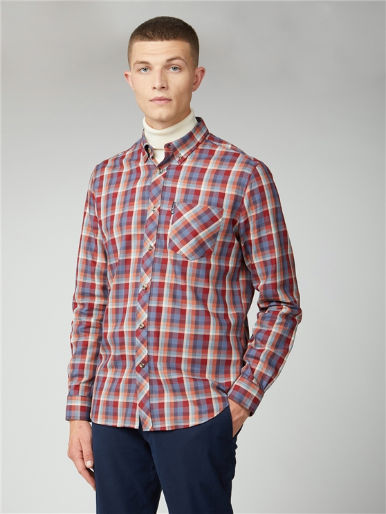 Winter Madras Check Shirt