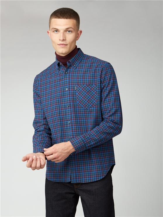 Multicoloured Oxford Check Shirt