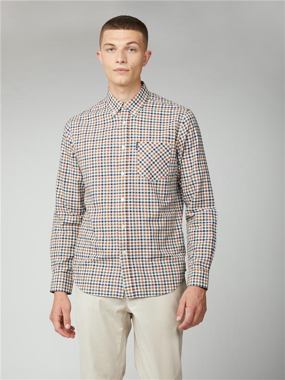 Multicoloured Oxford Check Shirt