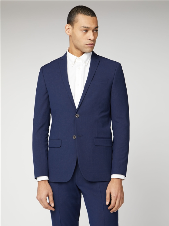 Blue Rust Fleck Slim Fit Suit Jacket