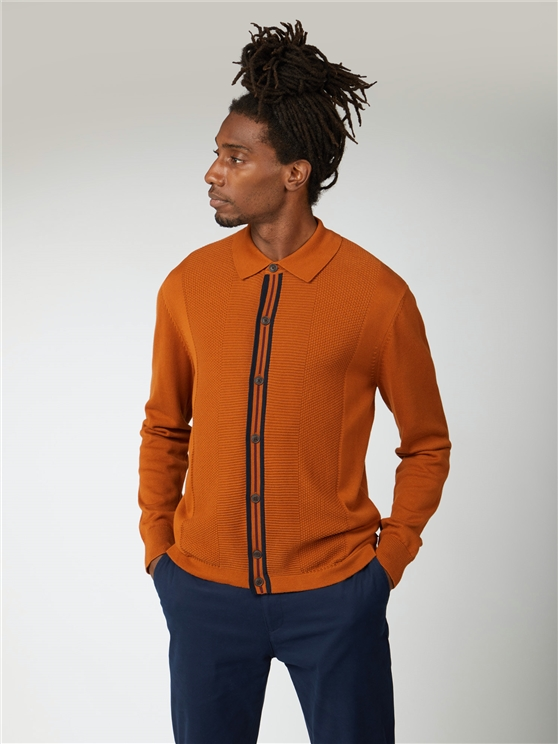 Button Through Mod Cardigan