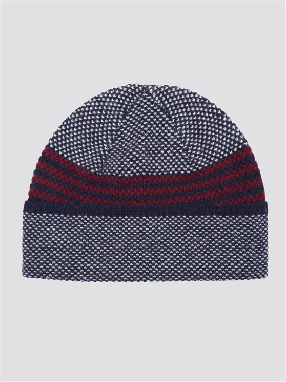 Stitch Interest Colour Block Hat