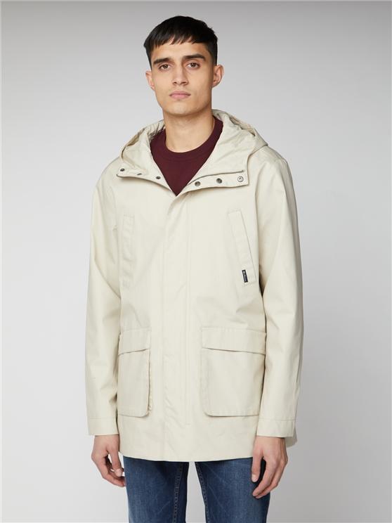 Four Pocket Hooded Jacket
