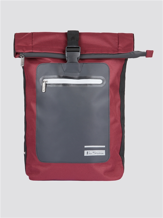 Ben Sherman Roll-Top Backpack