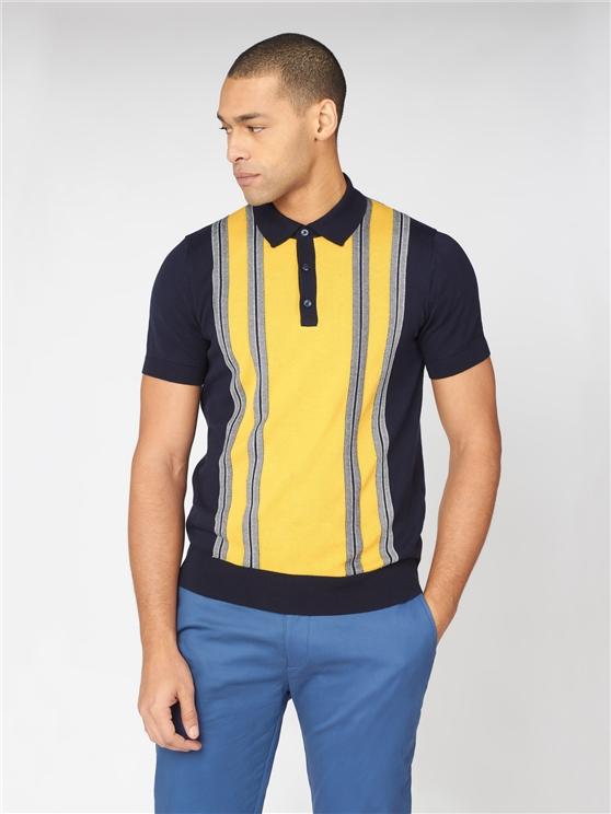 Mod Stripe Polo Shirt