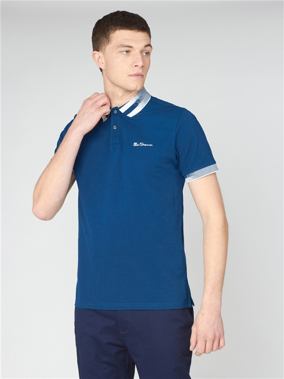 Collar Interest Polo Shirt