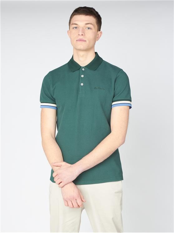 Heavy Textured Polo Shirt