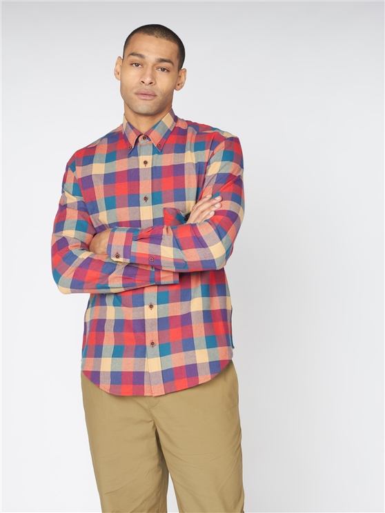 Recycled Check Shirt