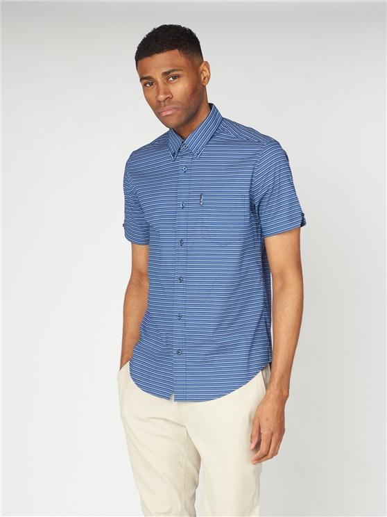 Printed Dash Stripe Shirt