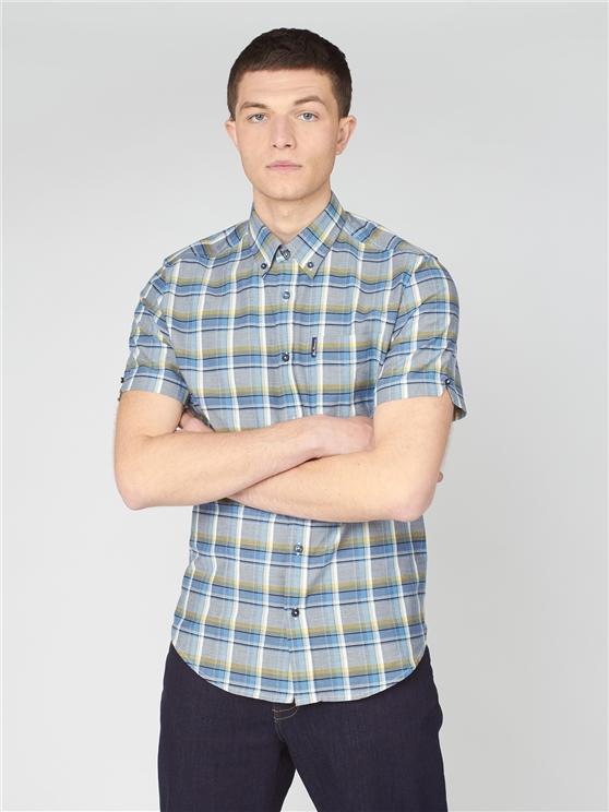 Irregular Marine Check Shirt