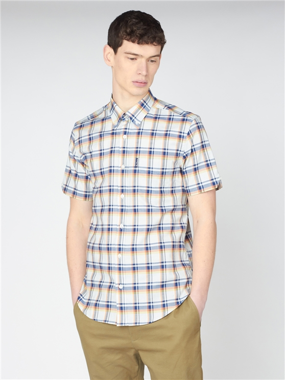 Irregular Check Shirt