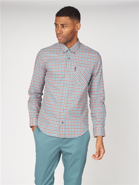 Oxford Gingham Check Shirt