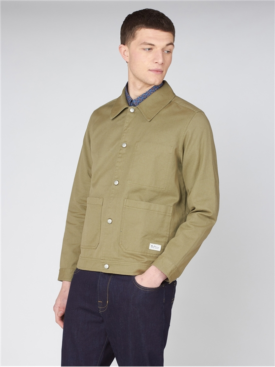 Summer Trucker Shirt Jacket