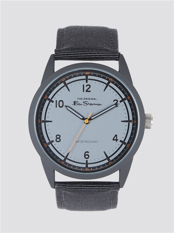 Ben Sherman Canvas Strap Watch