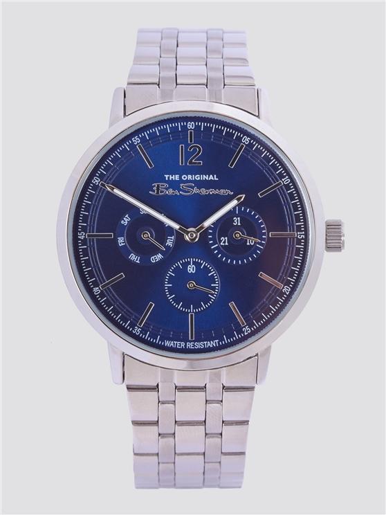 Ben Sherman Silver Steel Watch